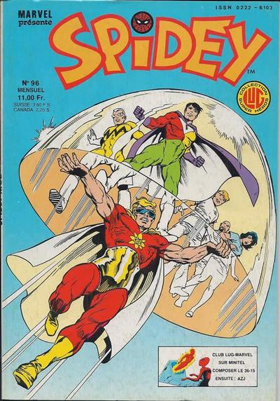 Cover for Spidey (Editions Lug, 1979 series) #96