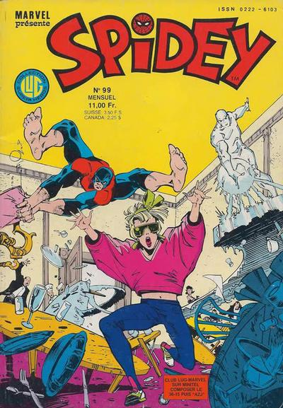 Cover for Spidey (Editions Lug, 1979 series) #99