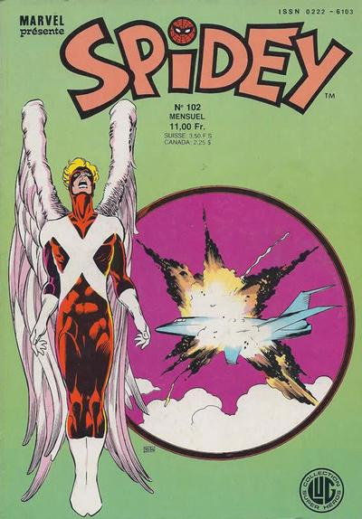 Cover for Spidey (Editions Lug, 1979 series) #102