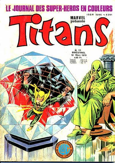 Cover for Titans (Editions Lug, 1976 series) #19