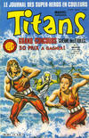 Cover for Titans (Editions Lug, 1976 series) #75