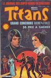 Cover for Titans (Editions Lug, 1976 series) #81
