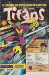 Cover for Titans (Editions Lug, 1976 series) #85