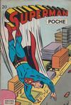 Cover for Superman Poche (Sage - Sagédition, 1976 series) #20