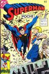 Cover for Superman Poche (Sage - Sagédition, 1976 series) #91