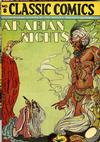 Cover for Classic Comics (Gilberton, 1941 series) #8 - Arabian Nights [HRN 28]