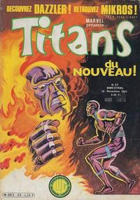Cover Thumbnail for Titans (Editions Lug, 1976 series) #35