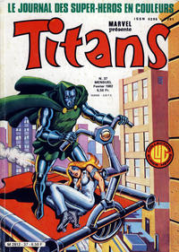 Cover Thumbnail for Titans (Editions Lug, 1976 series) #37