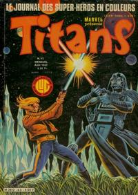 Cover Thumbnail for Titans (Editions Lug, 1976 series) #43