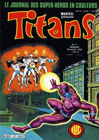 Cover Thumbnail for Titans (Editions Lug, 1976 series) #47