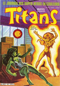 Cover Thumbnail for Titans (Editions Lug, 1976 series) #48