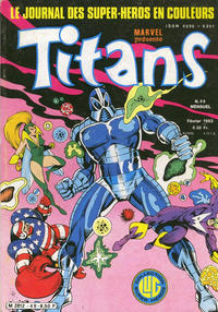 Cover Thumbnail for Titans (Editions Lug, 1976 series) #49
