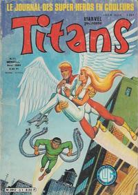 Cover Thumbnail for Titans (Editions Lug, 1976 series) #51
