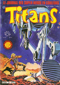Cover Thumbnail for Titans (Editions Lug, 1976 series) #52