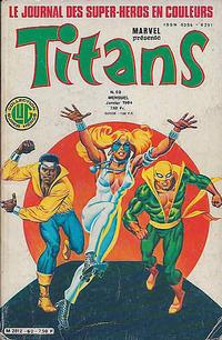 Cover Thumbnail for Titans (Editions Lug, 1976 series) #60