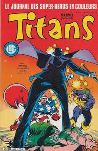 Cover Thumbnail for Titans (Editions Lug, 1976 series) #61