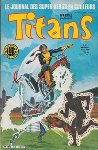 Cover Thumbnail for Titans (Editions Lug, 1976 series) #63