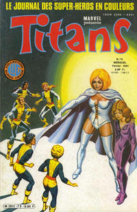 Cover Thumbnail for Titans (Editions Lug, 1976 series) #73