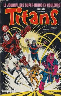 Cover Thumbnail for Titans (Editions Lug, 1976 series) #86