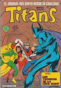 Cover Thumbnail for Titans (Editions Lug, 1976 series) #89