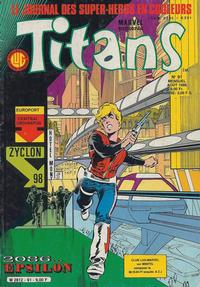 Cover Thumbnail for Titans (Editions Lug, 1976 series) #91