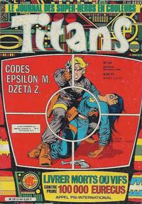 Cover Thumbnail for Titans (Editions Lug, 1976 series) #94