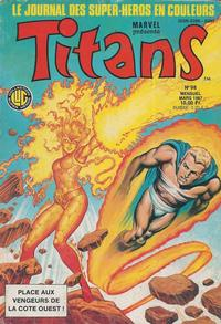 Cover Thumbnail for Titans (Editions Lug, 1976 series) #98