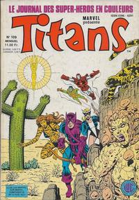 Cover Thumbnail for Titans (Editions Lug, 1976 series) #109