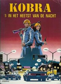 Cover Thumbnail for Kobra (Arboris, 1992 series) #1 - In het heetst van de nacht
