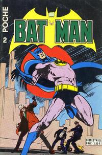 Cover Thumbnail for Batman Poche (Sage - Sagédition, 1976 series) #2