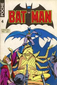 Cover Thumbnail for Batman Poche (Sage - Sagédition, 1976 series) #4