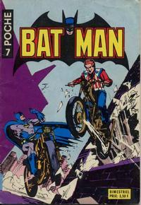 Cover Thumbnail for Batman Poche (Sage - Sagédition, 1976 series) #7