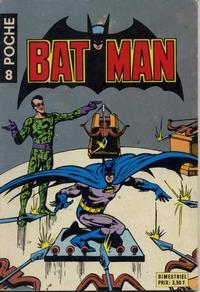 Cover Thumbnail for Batman Poche (Sage - Sagédition, 1976 series) #8