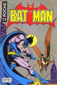 Cover Thumbnail for Batman Poche (Sage - Sagédition, 1976 series) #12