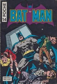 Cover Thumbnail for Batman Poche (Sage - Sagédition, 1976 series) #14