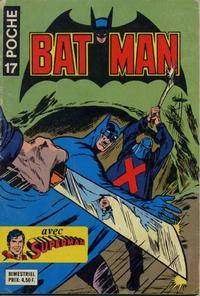 Cover Thumbnail for Batman Poche (Sage - Sagédition, 1976 series) #17