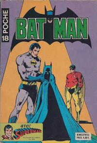 Cover Thumbnail for Batman Poche (Sage - Sagédition, 1976 series) #18