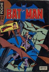 Cover Thumbnail for Batman Poche (Sage - Sagédition, 1976 series) #22