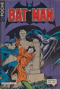 Cover Thumbnail for Batman Poche (Sage - Sagédition, 1976 series) #26