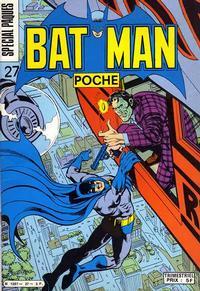 Cover Thumbnail for Batman Poche (Sage - Sagédition, 1976 series) #27
