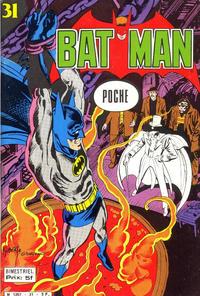 Cover Thumbnail for Batman Poche (Sage - Sagédition, 1976 series) #31