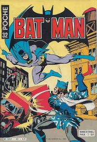 Cover Thumbnail for Batman Poche (Sage - Sagédition, 1976 series) #32