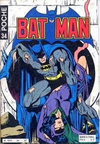 Cover Thumbnail for Batman Poche (Sage - Sagédition, 1976 series) #34