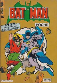 Cover Thumbnail for Batman Poche (Sage - Sagédition, 1976 series) #36
