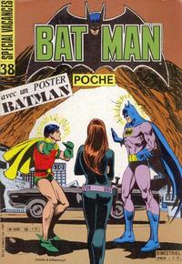 Cover Thumbnail for Batman Poche (Sage - Sagédition, 1976 series) #38
