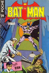 Cover Thumbnail for Batman Poche (Sage - Sagédition, 1976 series) #39