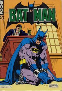 Cover Thumbnail for Batman Poche (Sage - Sagédition, 1976 series) #40