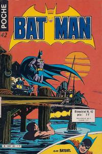 Cover Thumbnail for Batman Poche (Sage - Sagédition, 1976 series) #42