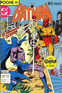 Cover Thumbnail for Batman Poche (Sage - Sagédition, 1976 series) #46