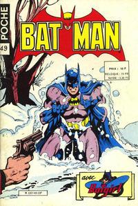 Cover Thumbnail for Batman Poche (Sage - Sagédition, 1976 series) #49